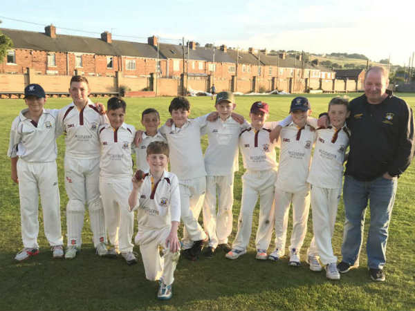 Year Old England Boy Luke Robinson Takes Six Wickets Six Balls