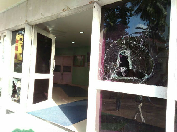 Case registered against 11 Congress members for attack on Mangaluru IT office