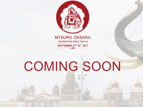 Mysuru Dasara Website Under Construction