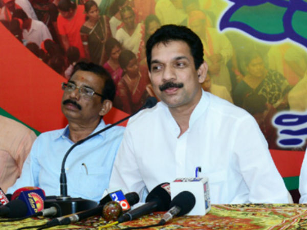 George and CM should resign over destruction of evidence in Ganapati case - Nalin Kateel