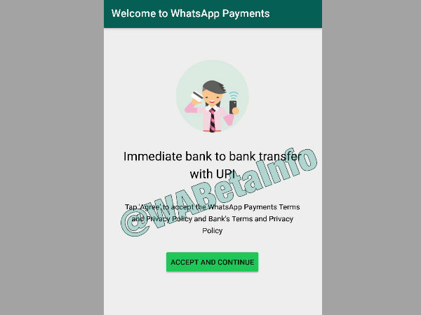 WhatsApp UPI Payments Feature Leaked Again