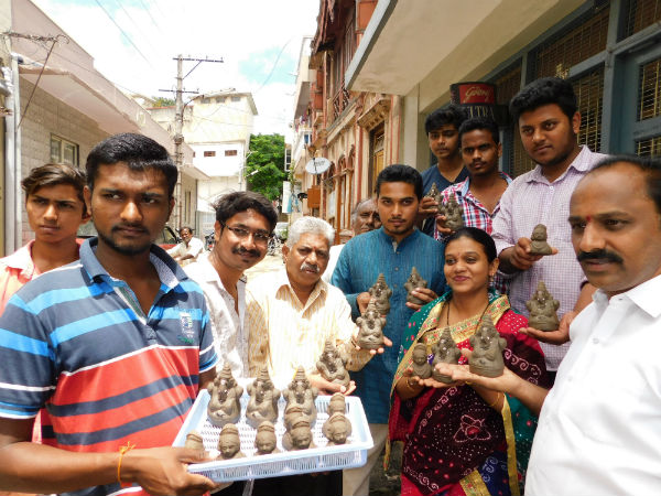 Bengaluru: Use eco friendly Ganesha to save our planet: Belaku organistation