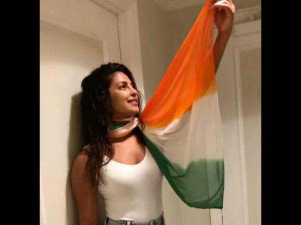 Priyanka Chopra Trolled For Not Wearing Sari On Independence Day