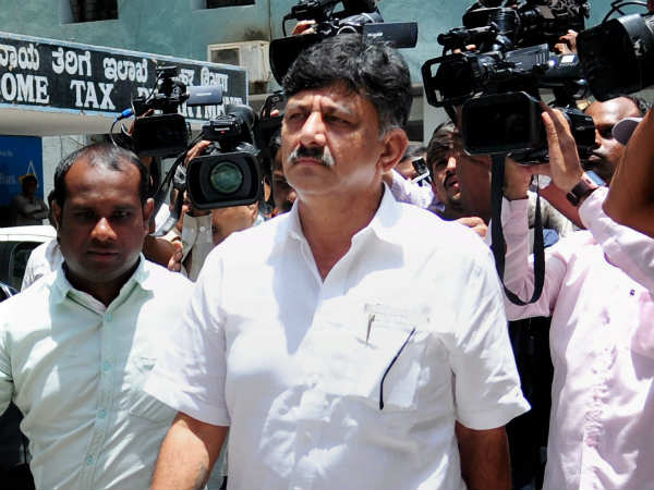 DK Shivakumar clarified that IT does not sized his bank accounts