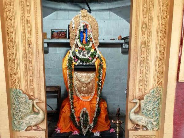 Raghavendra Swamy Aradhane At Davanagere Jayachamarajendra Extention