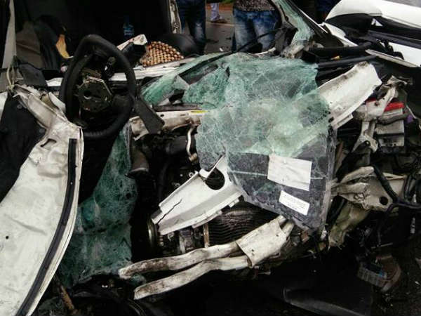 6 dead in road accident in Shivamogga