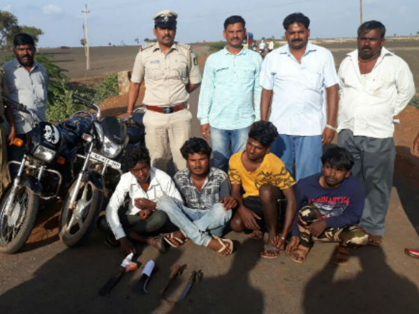 Four Robbers Arrested By Hubballi Rural Police