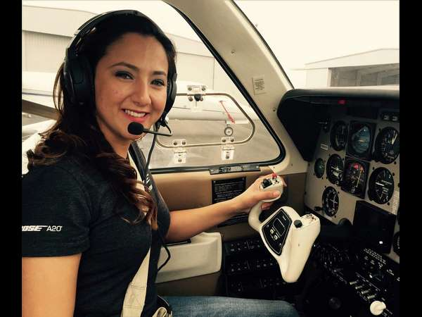 Afghan S 1st Female Pilot Makes Pit Stop Mangaluru On Her World Solo Flight