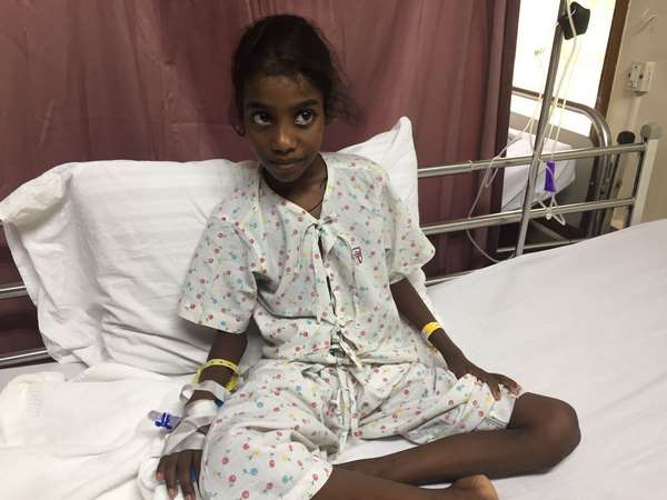 Please help this 9 year old girl to survive
