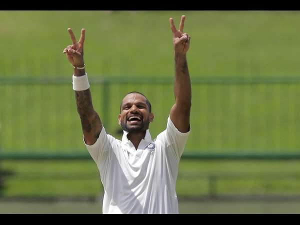 India Vs Srilanka 3rd test: Dhawan's Century powers India to score 329 on Day 1
