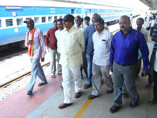 Chamarajanagar Vathal Nagaraj Will Protests On 13th Aug Against Railway Department