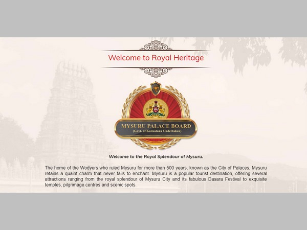 There is no place to Kannada language in Mysuru palace website