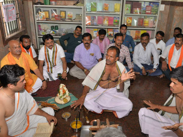 Father and son in Mysuru have converted again to Hinduism