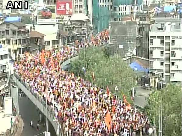 Maratha Kranti Morcha rally gets support from Balochistan