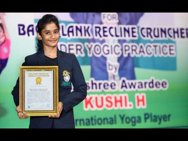 Mysuru Girl Wins Singapore Yoga Championship