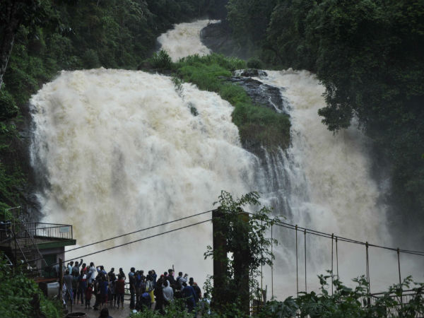 Rain Gives Heavenly Look To Abbey Falls In Madikeri