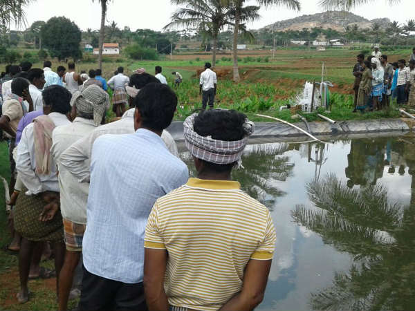 A 21 Year Boy Drowned In Krushi Honda At Gundlupet Taluk