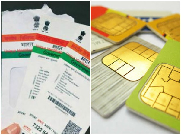 Sim Card To Be Deactivated If Not Linked With Aadhaar