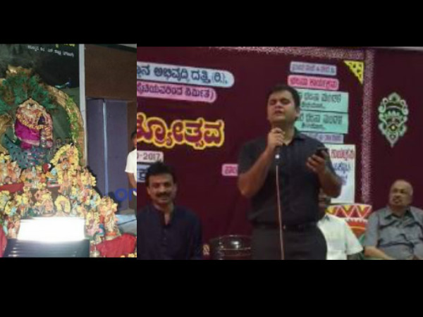 Superintendent Police Abhinav Khare Shows His Singing Talent Dasara