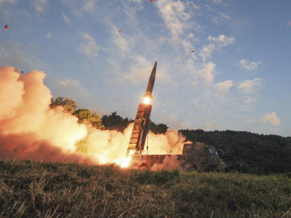 North Korea fires missile over Japan