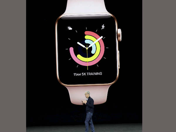 At iPhone 8 and iPhone X Launch Event Apple Watch Series 3 Unveiled