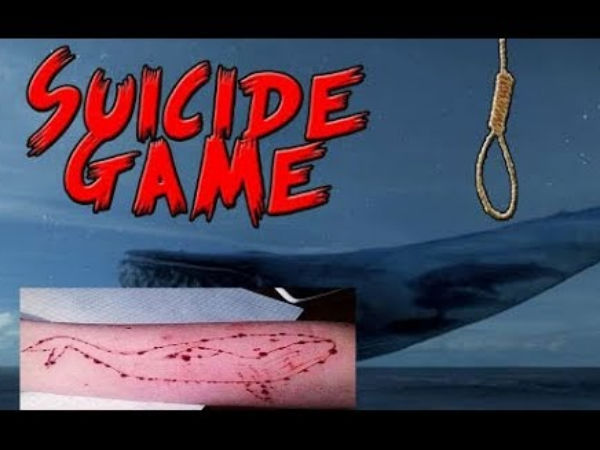 Bengaluru: 2 students, playing blue whale game are caught by lecturer