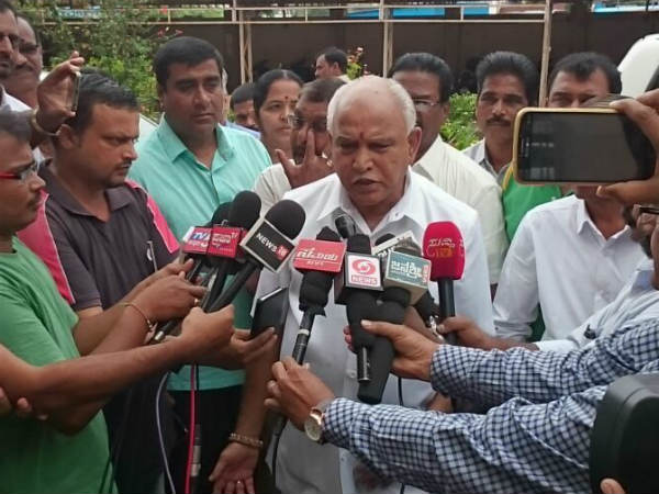 Bs Yeddyurappa Reacts About Contest From Terdal In 2018 Assembly Election