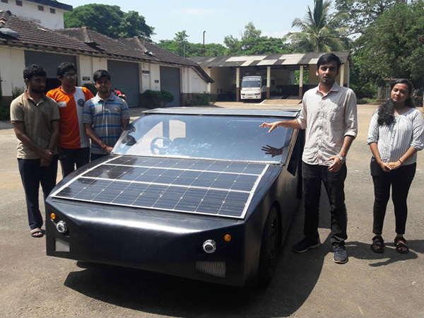 Manipal Institute Of Technology Students Designs Solar Powered Car Named Sm S