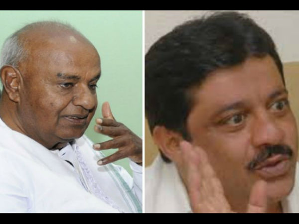 Karnataka Assembly Election 2018 Dewegowda Finds Cadidate From Jds To Contest Against Zameer