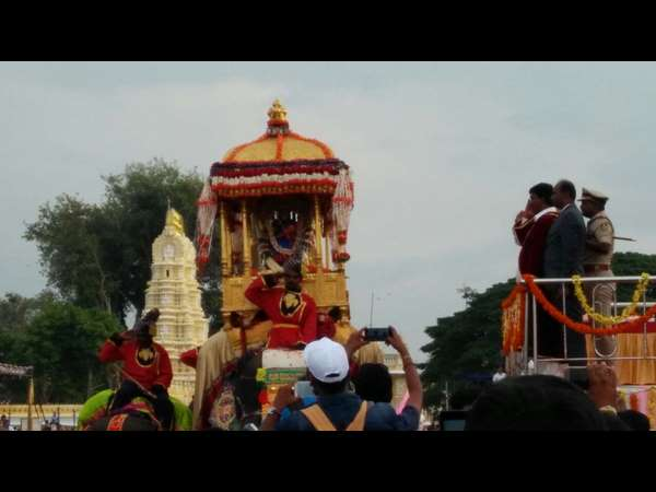 Countdown Starts For Mysuru Dasara Jamboo Savari 2017
