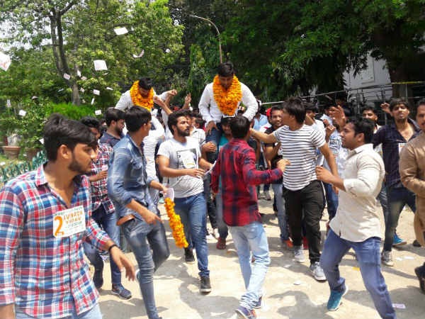 DUSU Election 2017: Big come back for NSUI, wins President and Vice President post