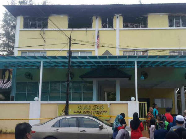 Fire kills at least 25 childrens in Malaysia
