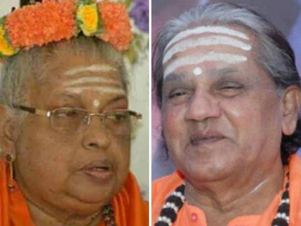 Shantaveera Seer Abuses Mate Mahadevi