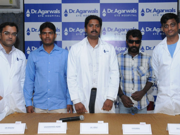 Occupational Ocular Injury Restored At Dr Agarwal S Eye Hospital