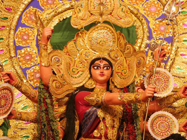 Durga pooja in Bengaluru from September 26th to 30th