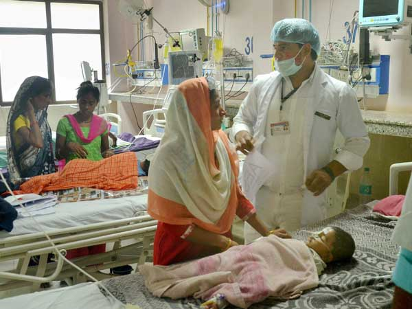 Children Die Due To Lack Of Oxygen In Farrukhabad