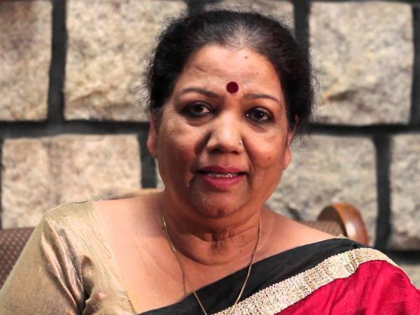 Girija Lokesh Selected For Sriranga Award By Dhwani Pratishthana