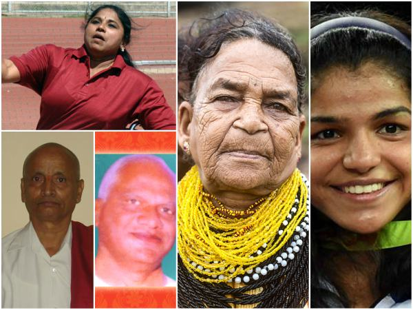 Sukri Bommagowda Sakshi Malik And 3 More To Receive Chuncha Shri Award 2017