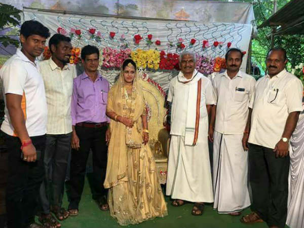 Rss Leader Dr Kalladka Prabhakar Bhat Attended Mehndi Programme Of Muslim Family In Mangaluru