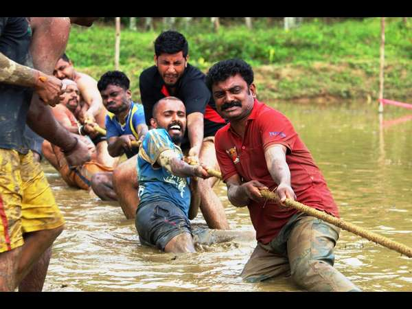 Sludge Mud Games For Journalists In Kodagu