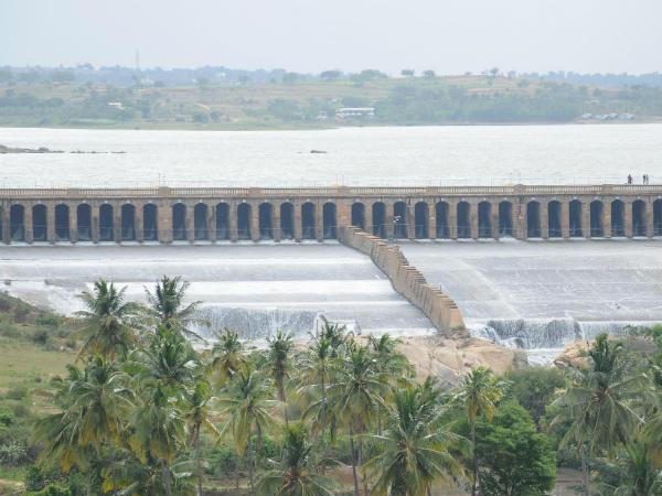 Water Level At Krs Dam Reaches 100 Feet