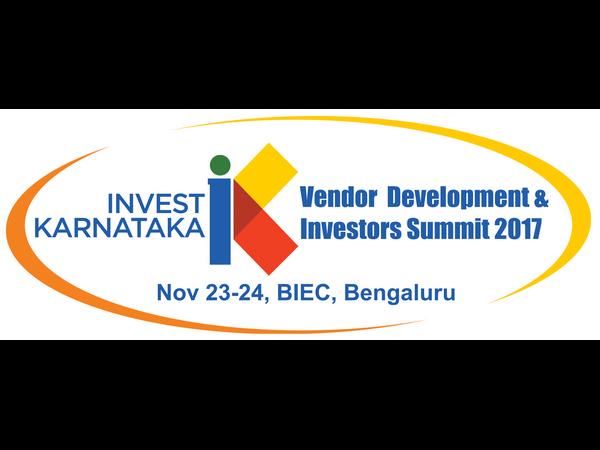 Invest Karnataka Summit 2017 On November 23 24 Rv Deshpande
