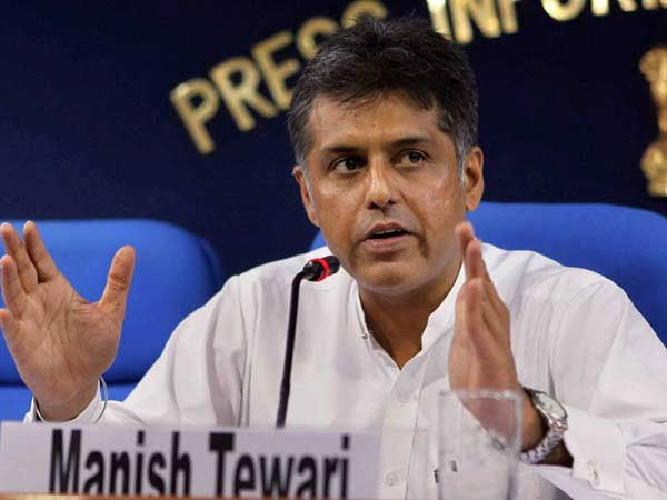 Manish Tewari Ready Apologise But Wants Pm To Unfollow Those Who Abuse Women