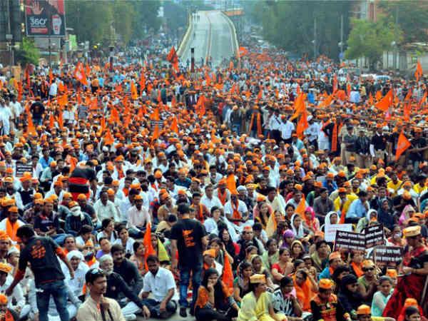 Kshatriya Maratha Kranti Morcha Rally With Various Demand