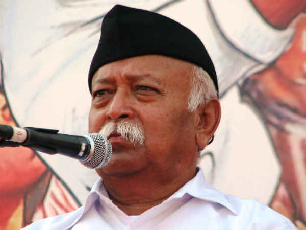 Rohingyas Threaten Our Security Says Rss Chief Mohan Bhagawath