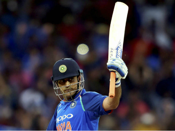 Ms Dhoni Completes 100 Fifties International Cricket India Vs Australia