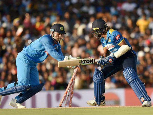 Ms Dhoni Creates World Record Becomes First Wicketkeeper With 100 Odi Stumpings
