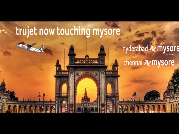 Trujet will connect Mysuru-Hyderabad from September 20, 2017
