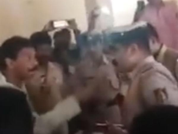 Police Officer Lodges Complaint Against Mp Nalin Kumar Kateel In Mangaluru