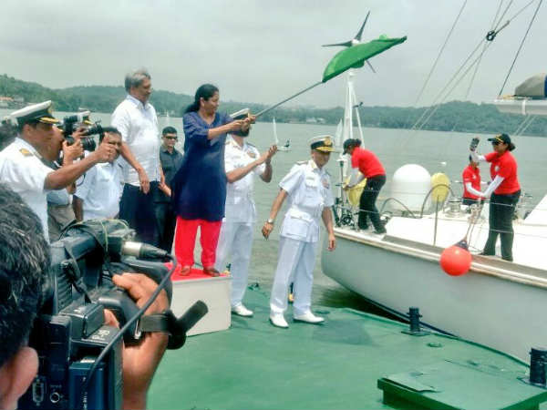 PM wishes the women officers Navika Sagar Parikrama, urges people to share good wishes on the NM App